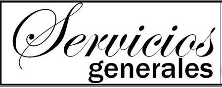 PORTADA SERVICIOS GENERALES