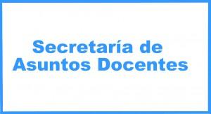 Secretaría de Asuntos docentes
